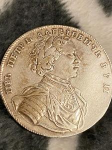 Рубль 1714