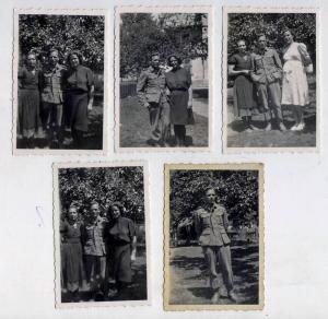 Фото горного стрелка с семьей (J39) 5 шт.