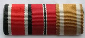 Наградная планка ЖК2 + медаль 1941-42 + вал