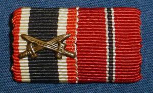 Наградная планка KVK2 + медаль 1941-42 -2