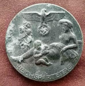 Значок REICHSPARTEITAG 1939