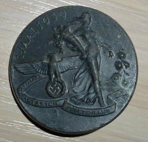 значок 1 мая 1939