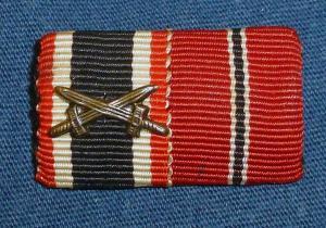 Наградная планка KVK2 + медаль 1941-42