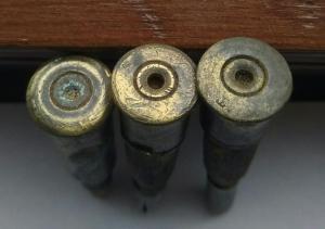 Учебные патроны для винтовки мосина.