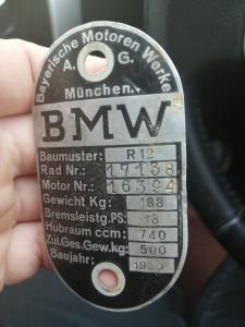 BMW R12 на оригинальность