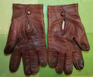 Кожаные перчатки. Франция.