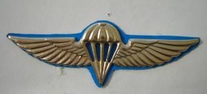 Знак за прыжок с парашютом.