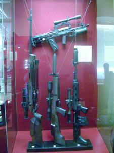 Музей оружия в Тульском Кремле.