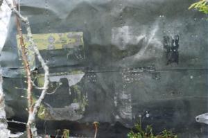 Место аварии Ju-88.