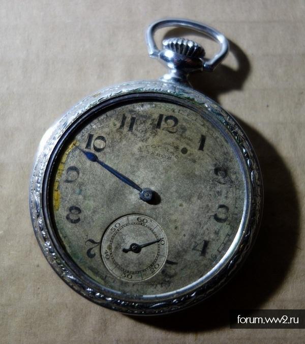 Карманные  часы за оборону Кавказа
