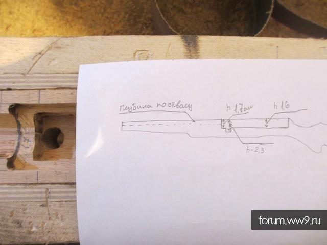 Изготовления приклада на VZ-29