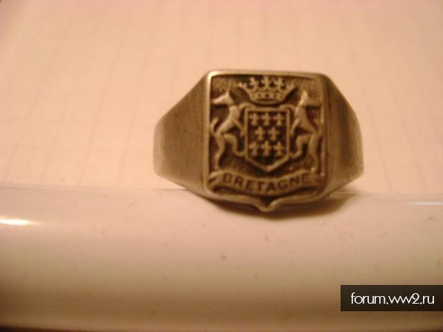перстень.серебро(bretagne)