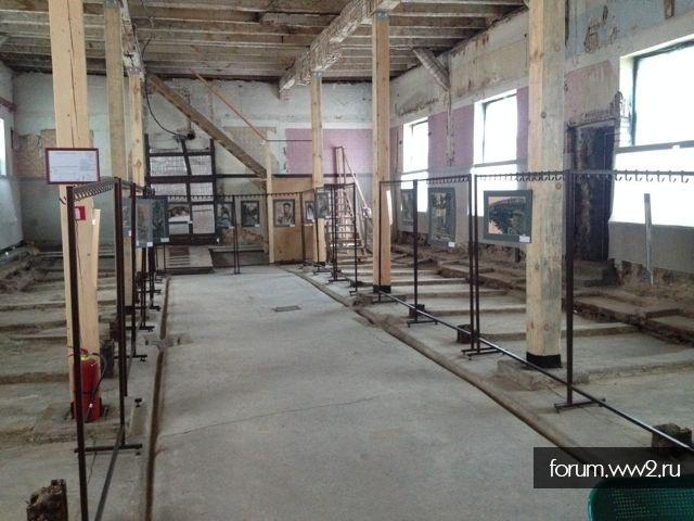 Выставка,мини-музей холокоста в Риге