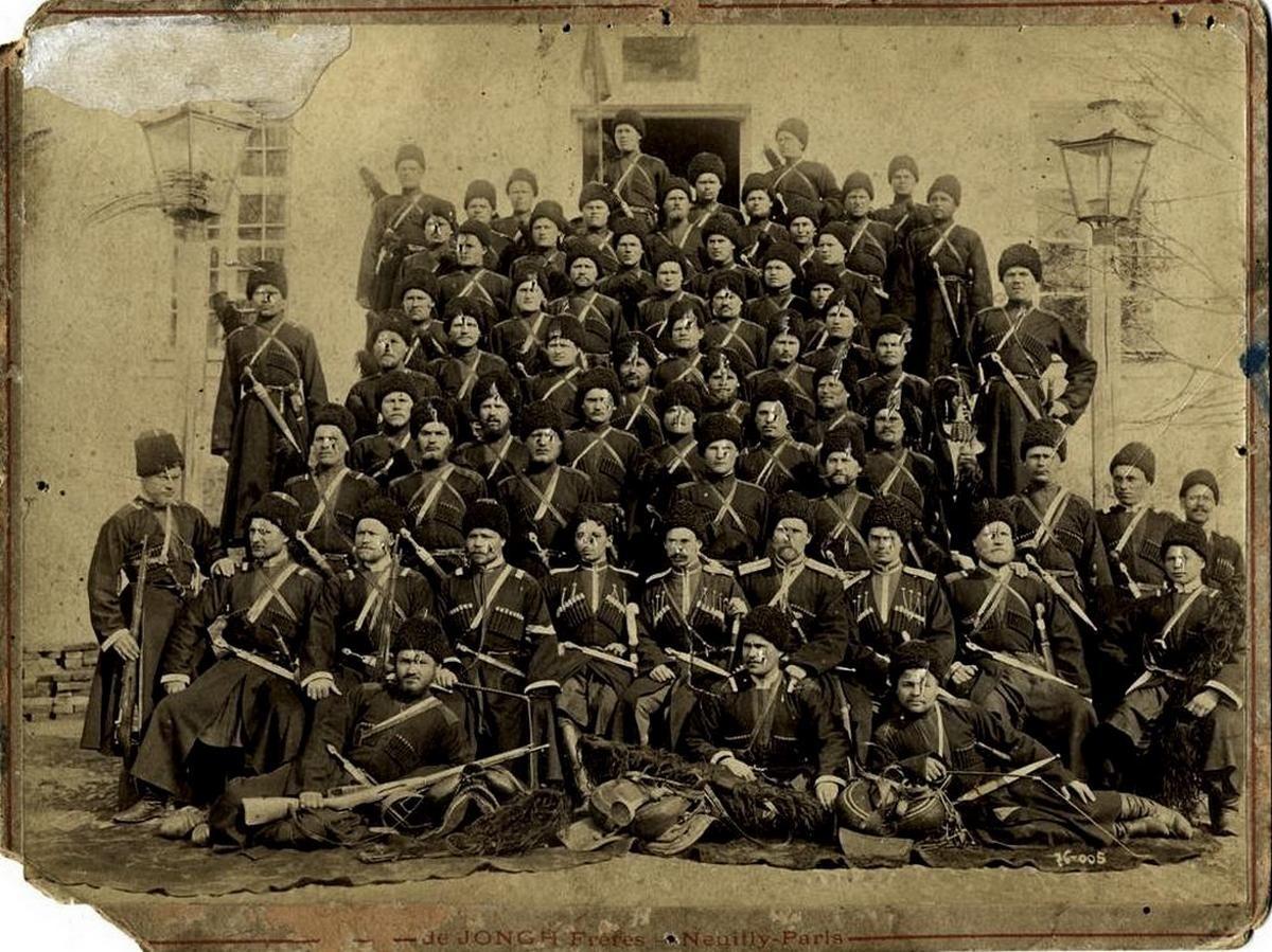 картинки терских казачьих войск туалетный