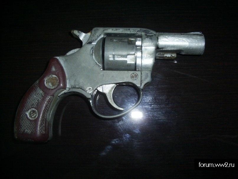Подскажите по стартовому револьверу.
