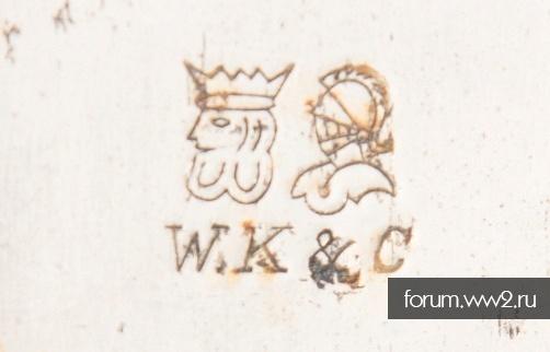 F.Fichte + W.K&C на сабельном клинке
