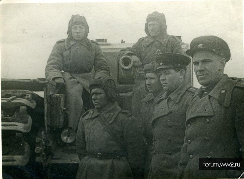 Танк Черчилль в Ленинграде, 1943 год