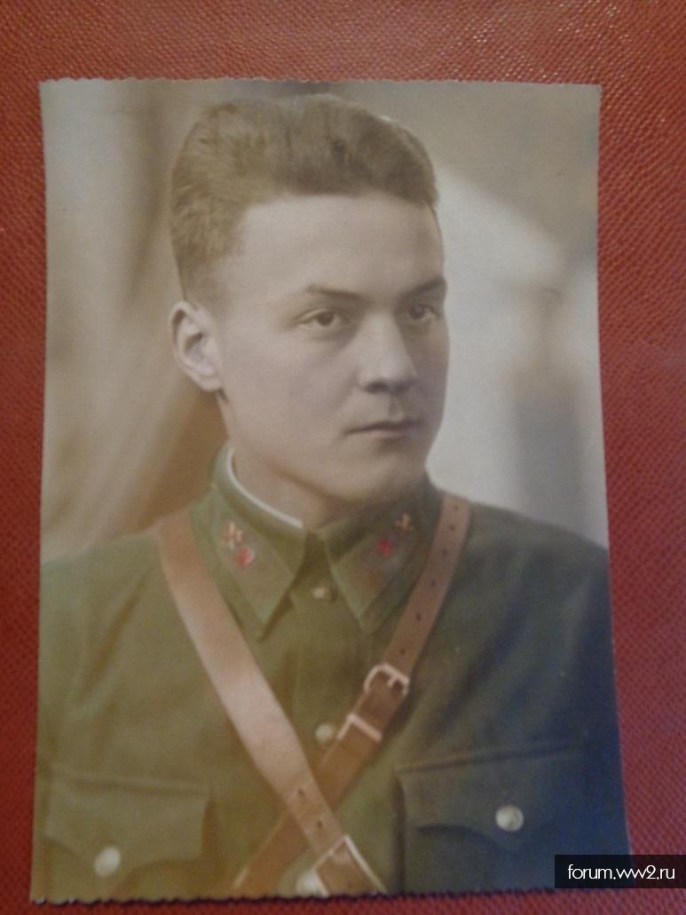Фотография Сапера РККА цветная (март 1942 года г.Москва)