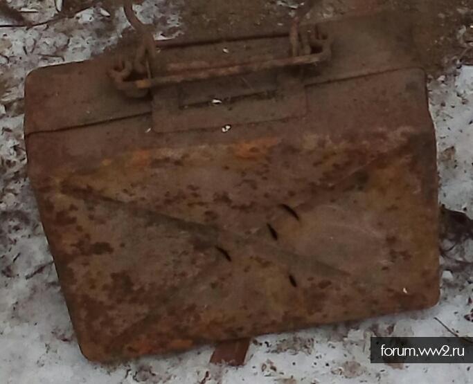 Немецкий минимальный ящик 50мм