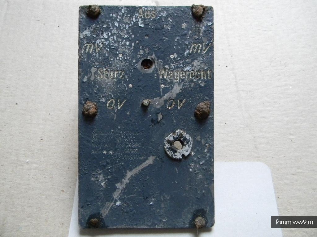 панель сброса бомб