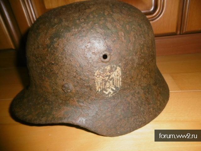 Каска Вермахт.под реставрацию