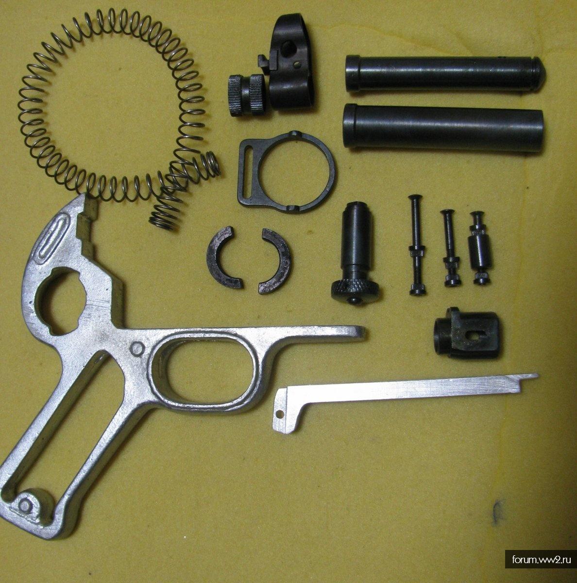 МР-40 комплект новодельных деталей одним лотом