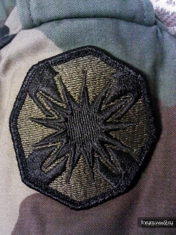 Шеврон армии США на определение