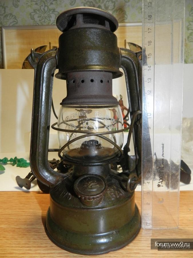 Вермахт.Керосиновая лампа FEUERHAND №175 SUPER BABY.