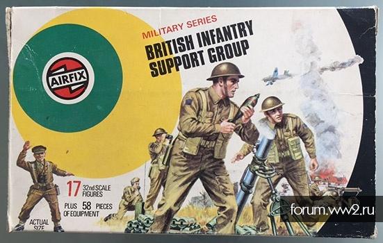 BRITISH INFANTRY SUPPORT / AIRFIX