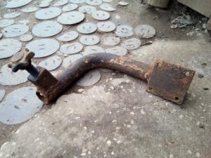 Труба- кронштейн от сидения наводчика штуг-3