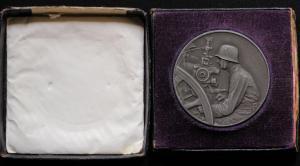 Медаль 3 место соревнования Вермахта по стрельбе