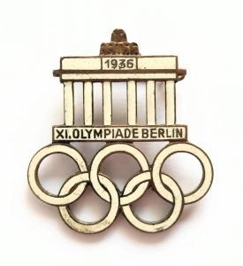 """Значок """"Олимпиада 1936 года"""""""