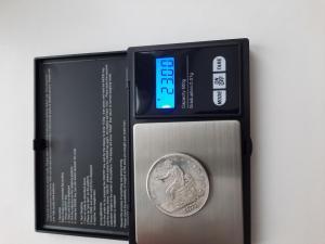 Определение на оригинальность 1 дллар сша серебро и индокитай пиастр