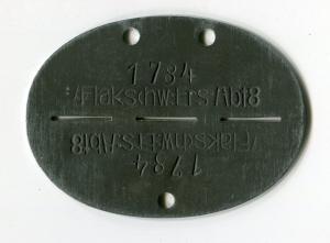 Жетон Flakschw.Ers.Abt.8