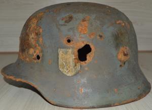 Шлем м35 двухдекальный