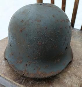 каска шлем м-35 в полевом перекрасе