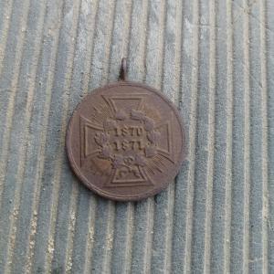 Прусская военная Медаль 1870-1871 гг.